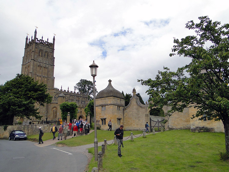 Tourists galore in Chipping Campden