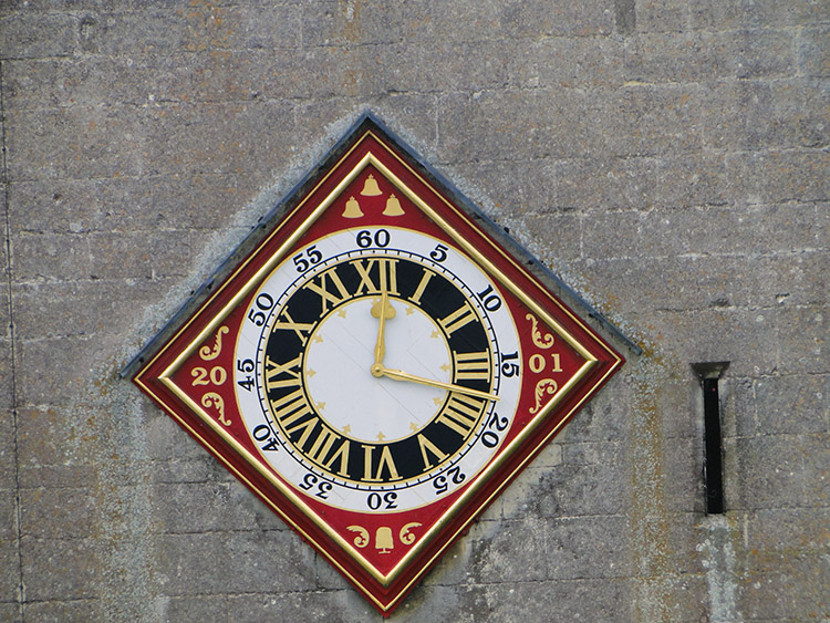Painswick Church clock