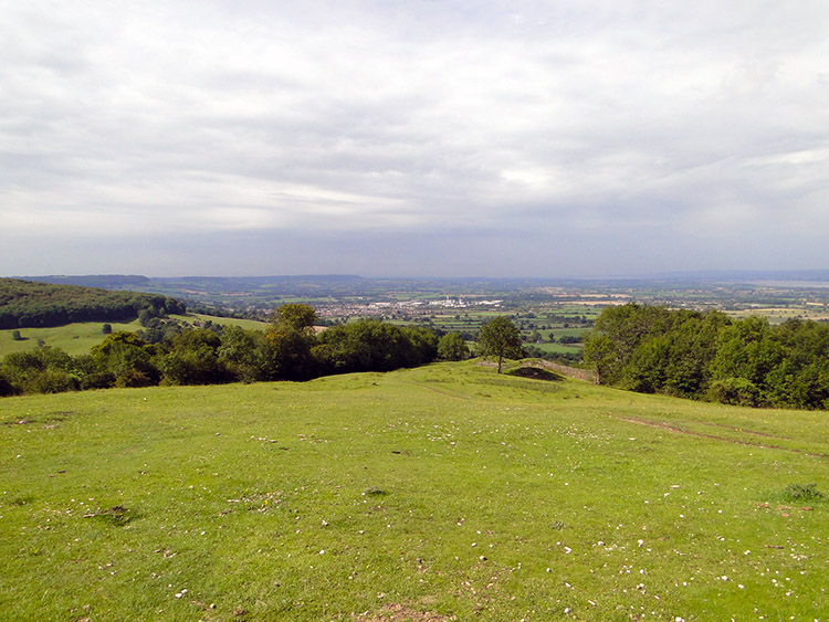 The view from Haresfield Hill