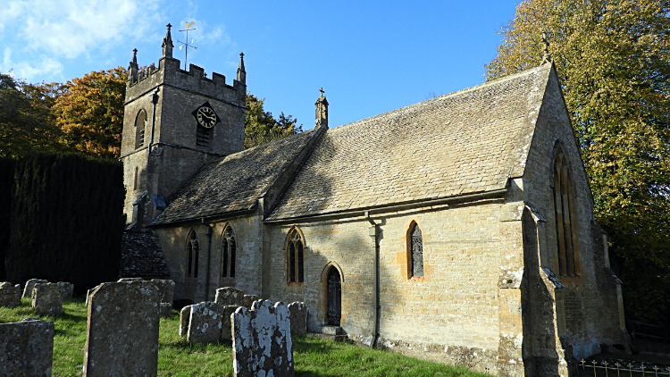 St Peter's Church in Upper Slaughter