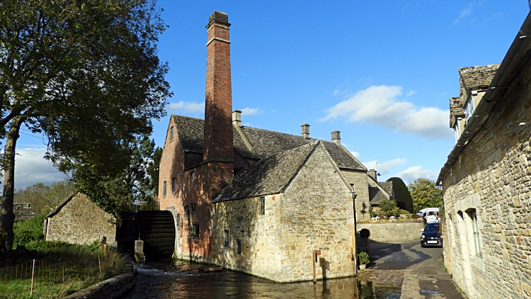 19th-century water mill in Lower Slaughter