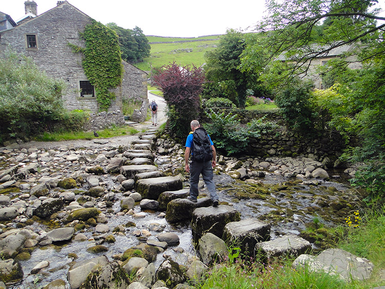 Stepping stones in Stainforth