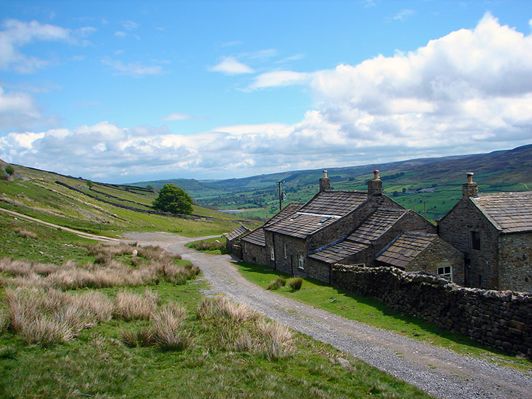 Swaledale as seen from Thirns