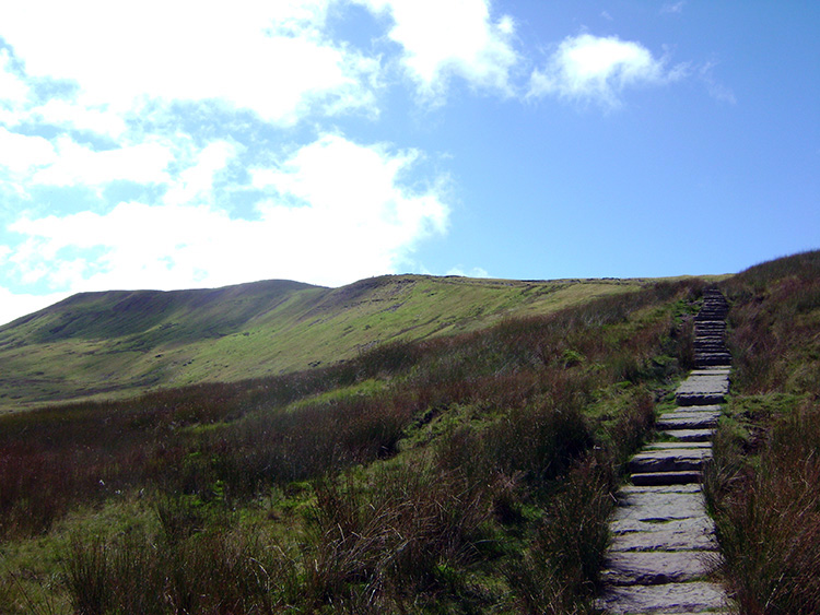 Whernside comes into view