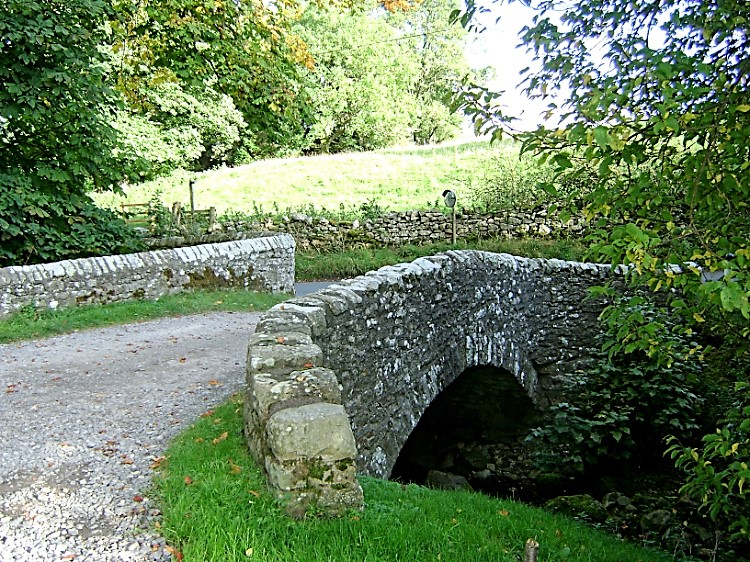 Vicarage Bridge at Grinton