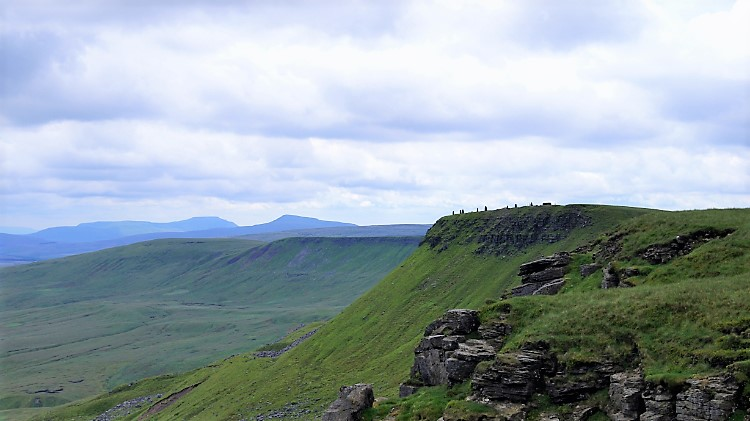 The Cairns, Whernside and Ingleborough