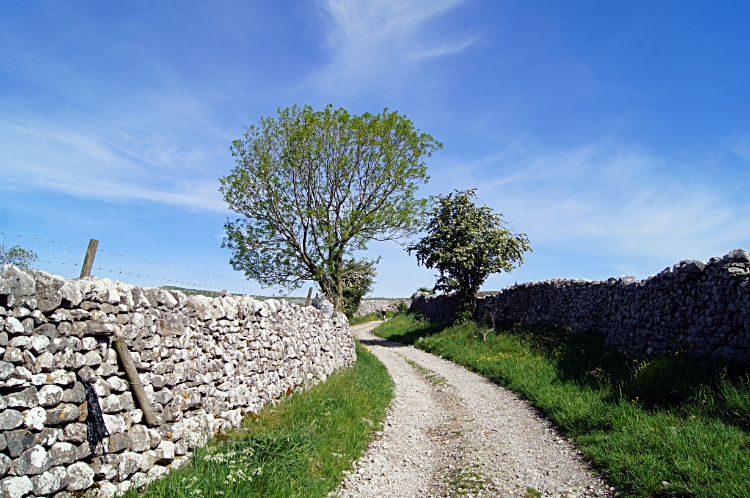 The Barns Road from Malham to Hoober Edge