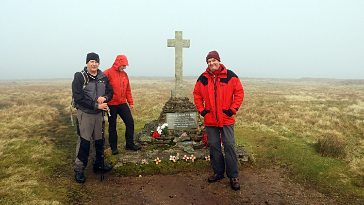 Memorial Cross, Buckden Pike