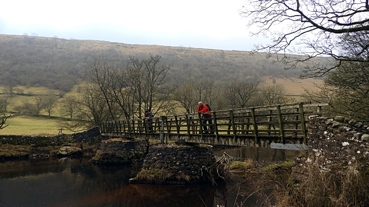 Footbridge at Starbotton