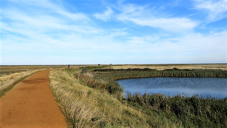 Following the Norfolk Coast Path