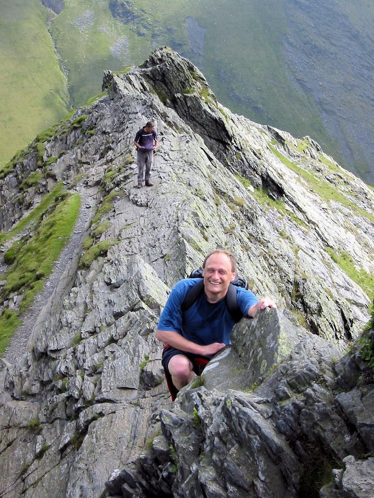 Raising a big grin on Sharp Edge
