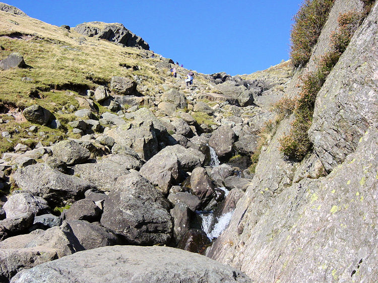 Stickle Ghyll is a rocky undertaking