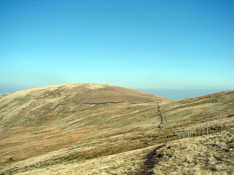 Looking north east to Selside Pike