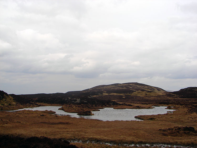 Small Tarn between High Seat and Bleaberry Fell