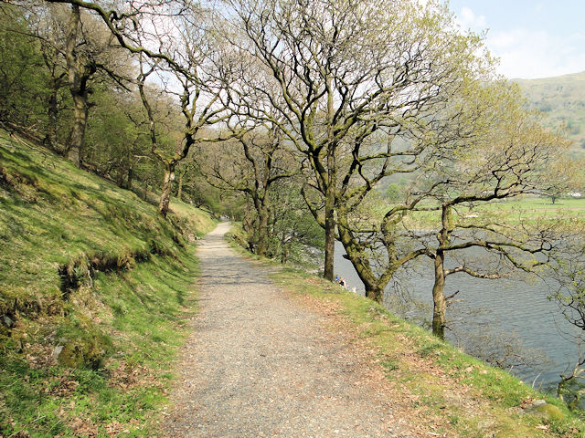The path from Cow Bridge to Hartsop Hall