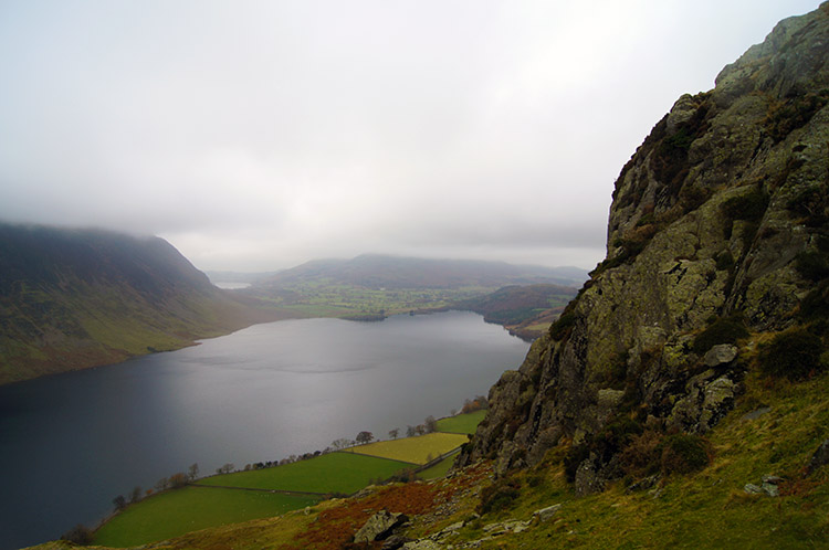 Crummock Water as seen from Rannerdale Knotts