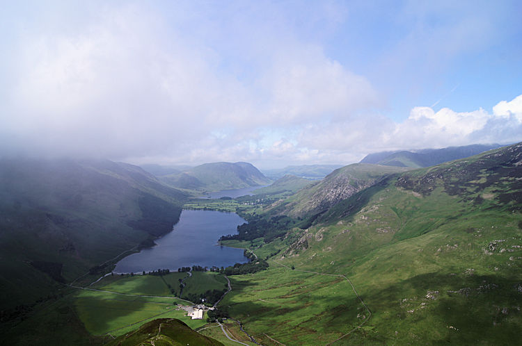 Buttermere as seen from Fleetwith Edge