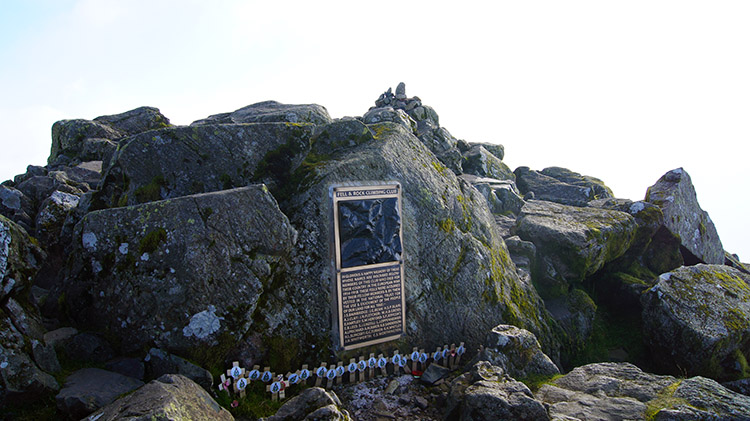 Summit of Great Gable and Memorial