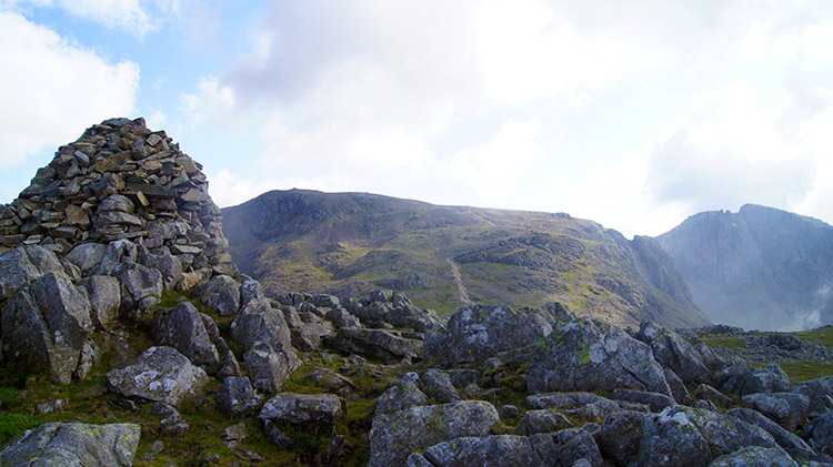 Summit cairn on Lingmell