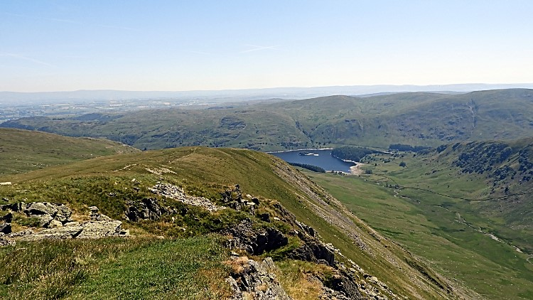 The view from Kidsty Pike to Haweswater