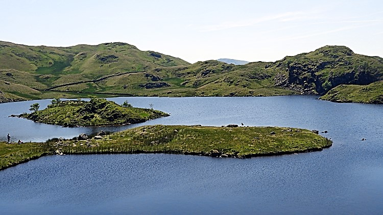 My break time view across Angle Tarn