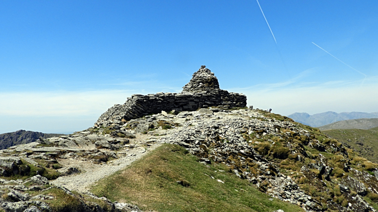 Summit of the Old Man of Coniston