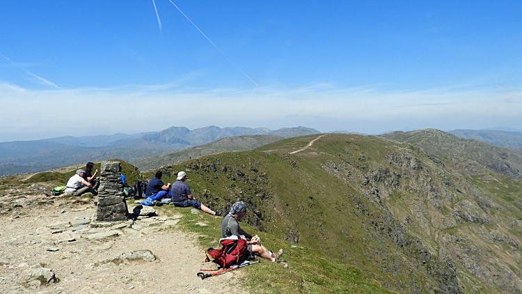 Lunchtime at 803 meters altitude