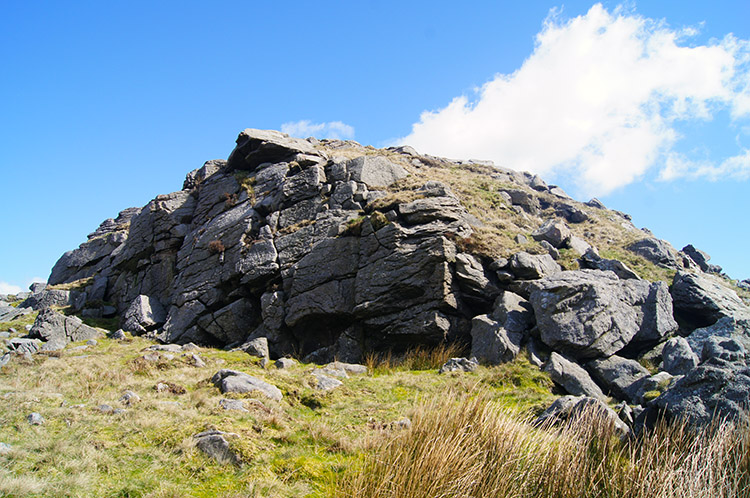 Outcrop at Bowland Knotts