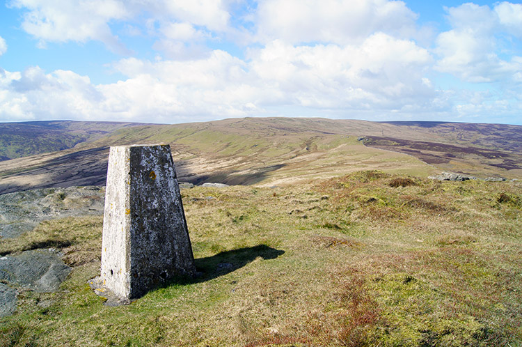 Trig Point on Bowland Knotts