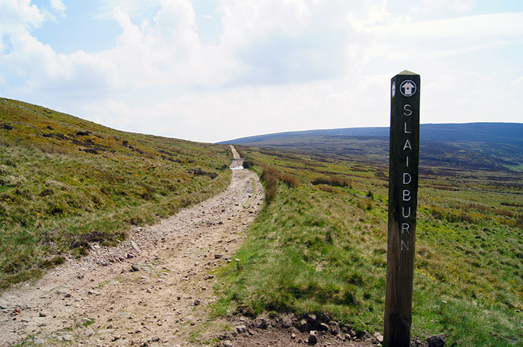 The Roman Road leading into Croasdale