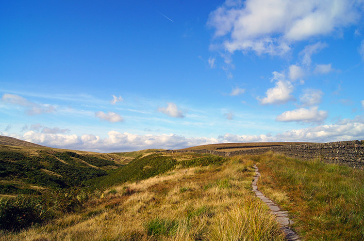 On the Bronte Way/ Pendle Way