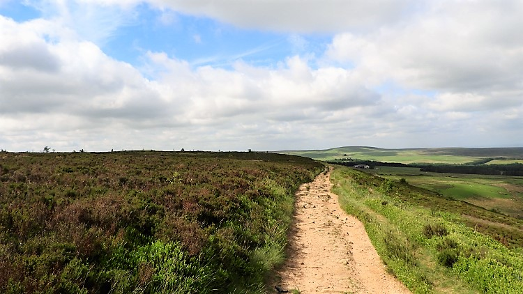 Walking from Darwen Hill to Tockholes