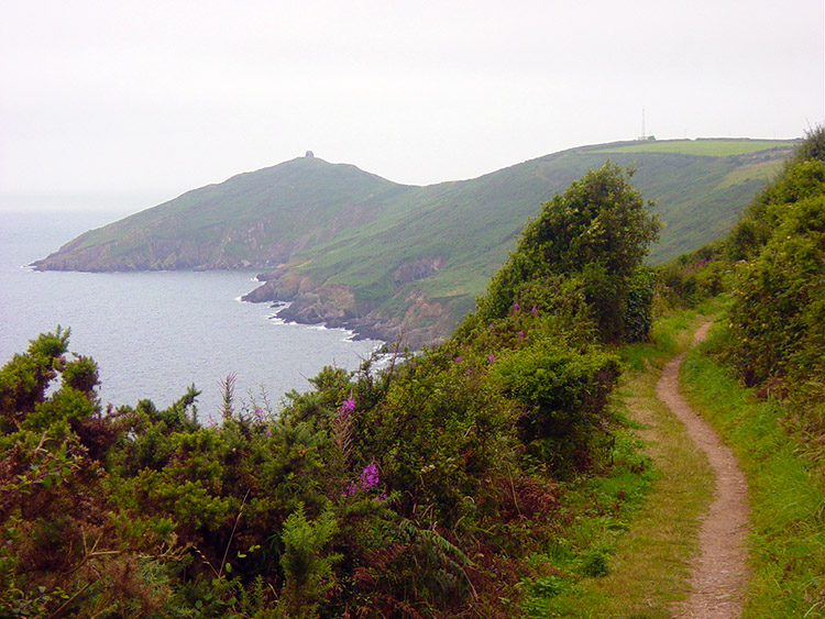 Walking from Penlee Point to Rame Head