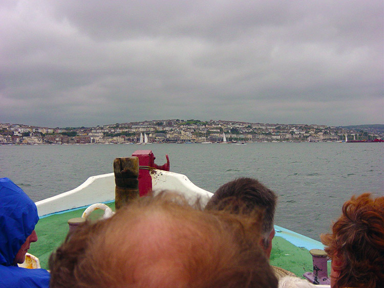 Ferry crossing from St Mawes to Falmouth