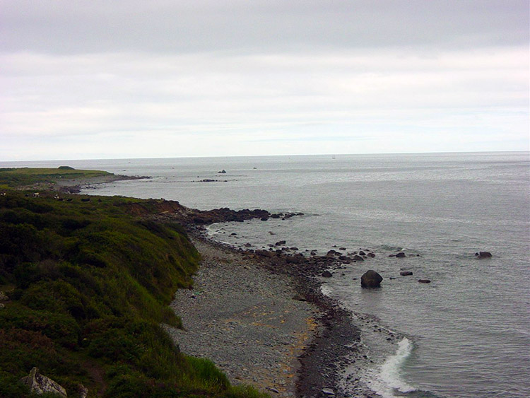 The coast near Coverack