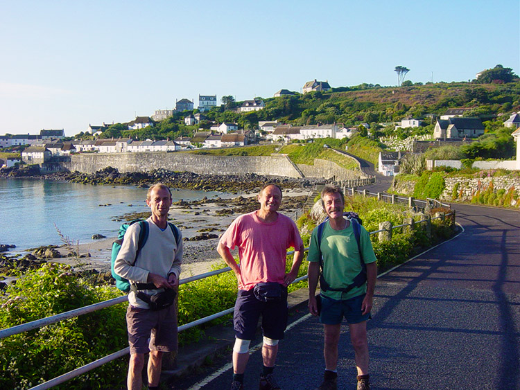 Ready to set off from Coverack
