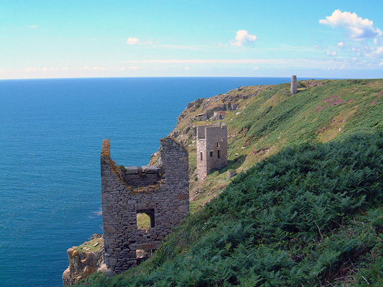 These ruins are near Trewavas Head