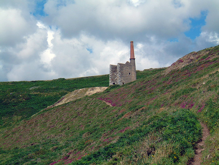Stunning disused coastal Tin Mine