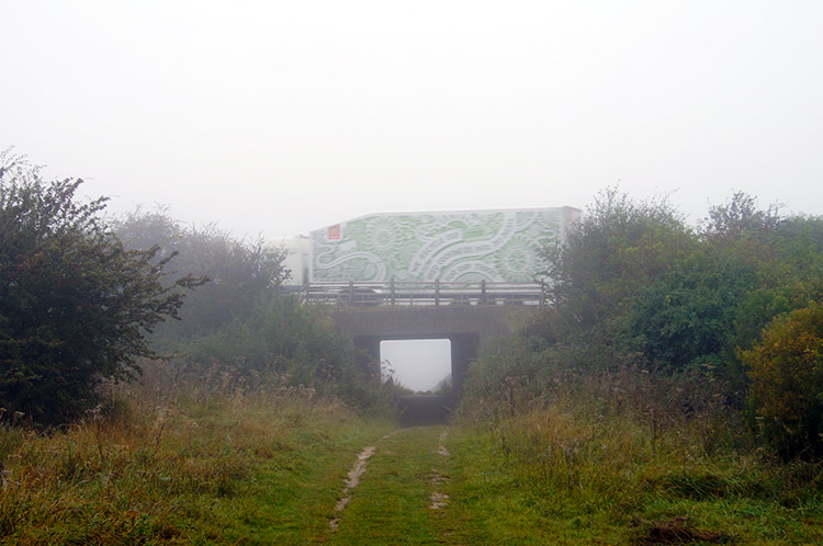 The Ridgeway underpass of the M40