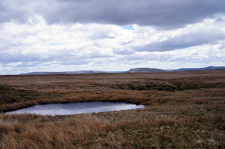 The desolate expanse of Mynydd Llangatwg