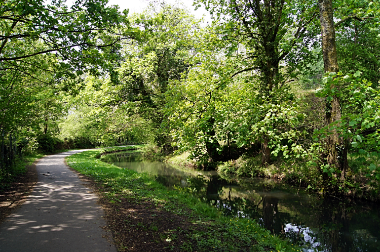 Monmouthshire Brecon Canal in the Ebwy Valley