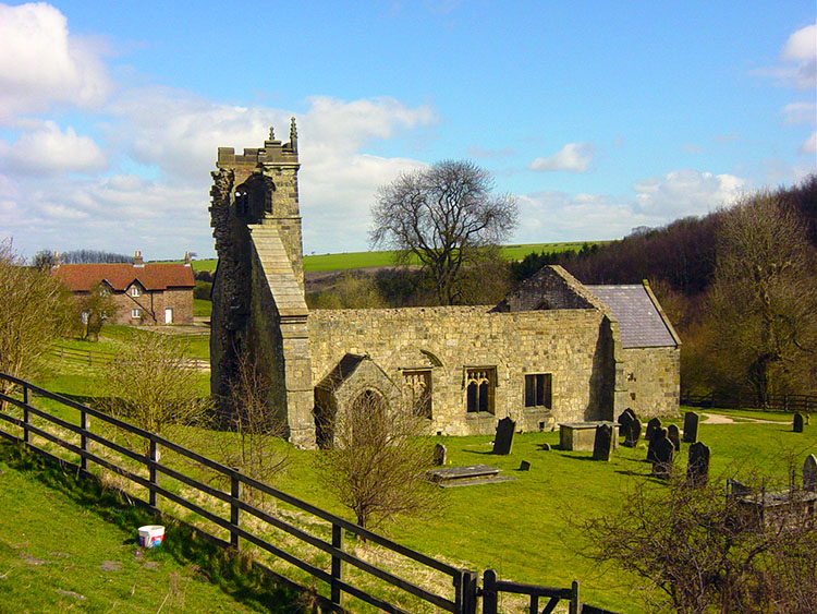 Wharram Percy Church