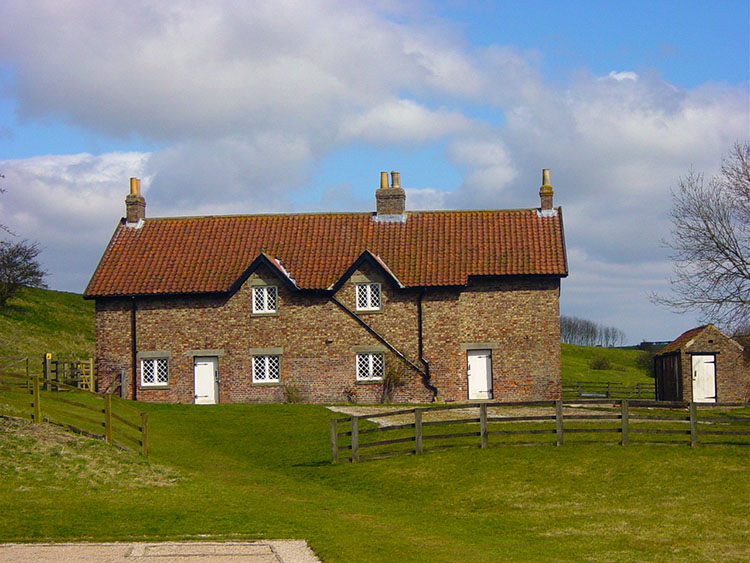 Houses in Wharram Percy