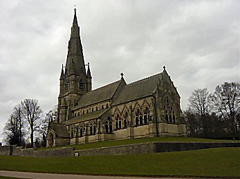 St Mary's Church in Studley Royal Park