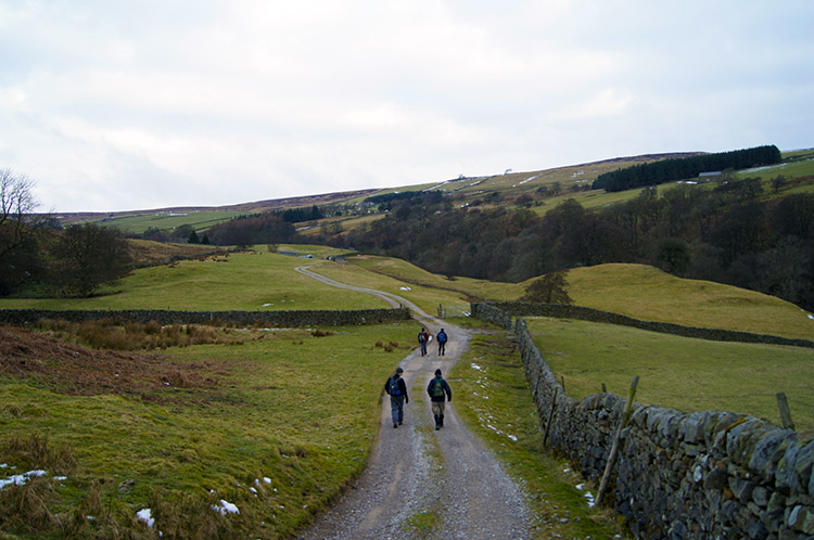 The track from Stean to Well House