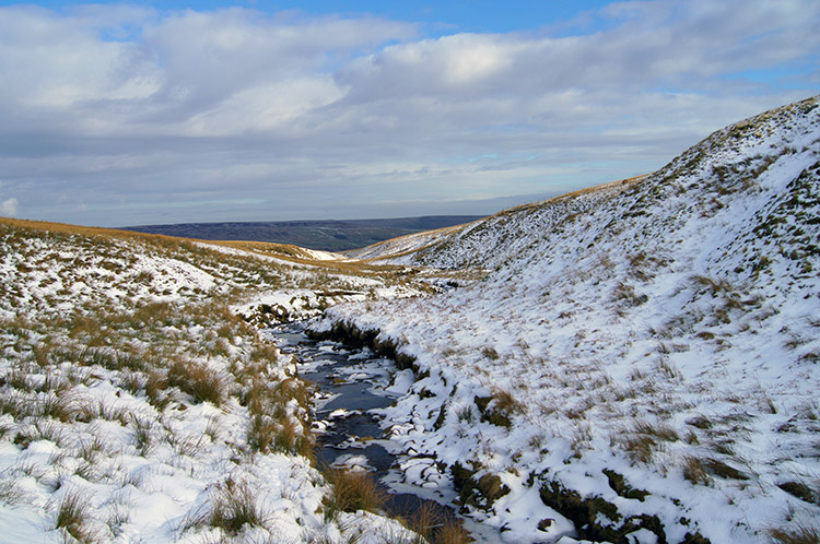 Looking back down Straight Stean Beck