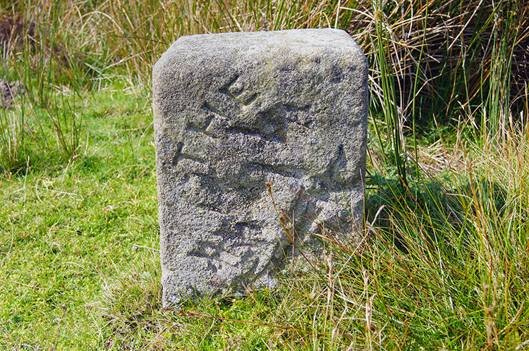 The mystery stone near Lulbeck Head