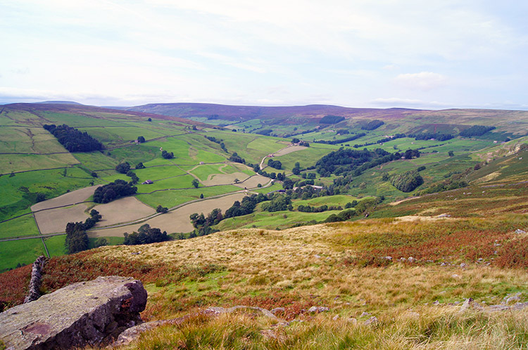 The view to Upper Nidderdale from Thrope Edge