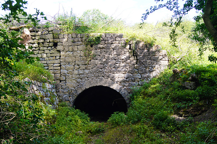 Lime Kiln in Burton Leonard Lime Quarries