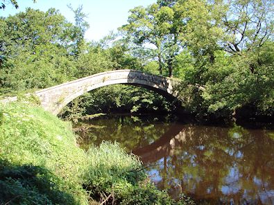 New Bridge spans the River Nidd